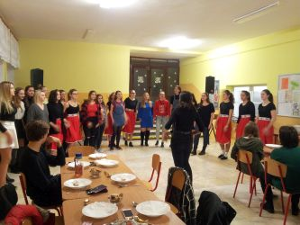 Vianočný večierok v školskom internáte