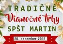 Tradičné Vianočné trhy na SPŠT v Martine
