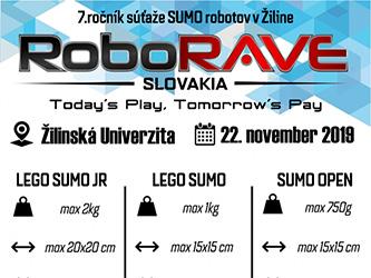 """Robotická súťaž """"RoboRAVE Slovensko 2019"""""""