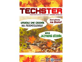 Druhé číslo študentského časopisu Techster