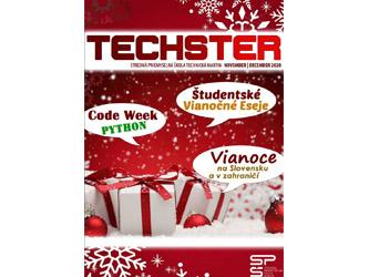 Tretie číslo študentského časopisu Techster