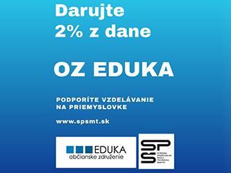 2% z dane pre občianske združenie Spoločnosť Eduka