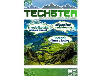 Štvrté číslo študentského časopisu Techster