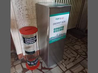 Triedenie elektro odpadu na SPŠT Martin