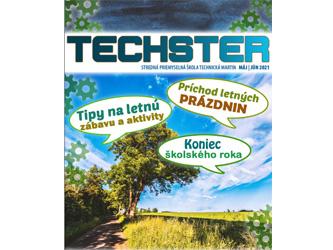 Piate číslo študentského časopisu Techster